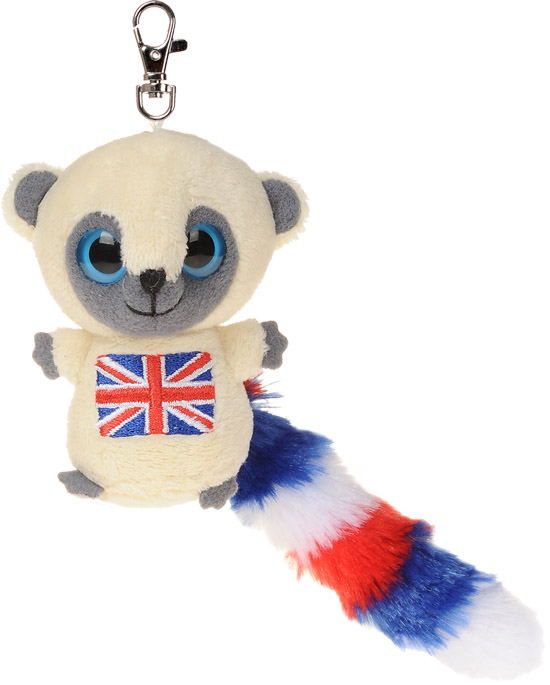 "YooHoo & Friends YooHoo 3"" Mini Keyclip Union Jack"