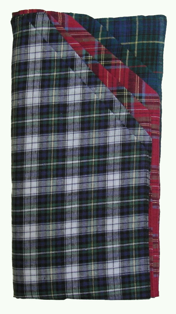 Sleeve of 6 Men's Tartan Handkerchiefs