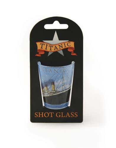 Titanic Shot Glass 25 ml