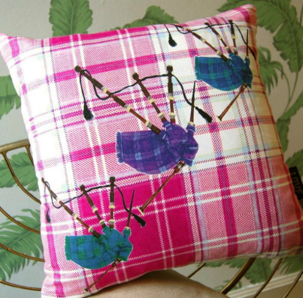 Bagpipes Cushion
