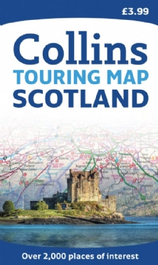 Collins Touring Map of Scotland