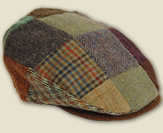 The Donegal Patch Tweed Cap
