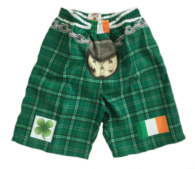 Ireland Tartan Kilt Shorts - Small