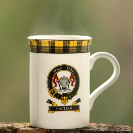 Macleod Scottish Clan Fine Bone China Mug