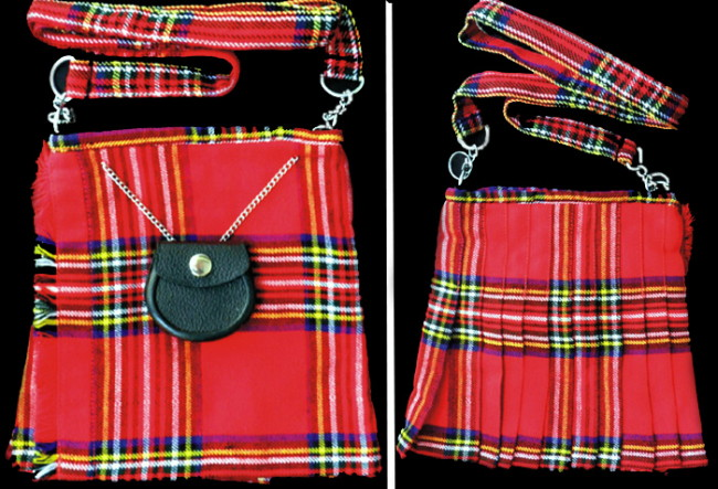 Tartan Kilt Purse with Matching Strap