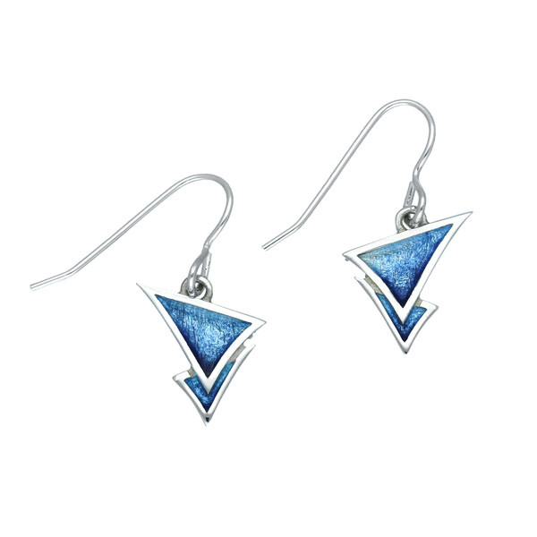 Sail Away Sterling Silver Drop Earrings - Waterfall