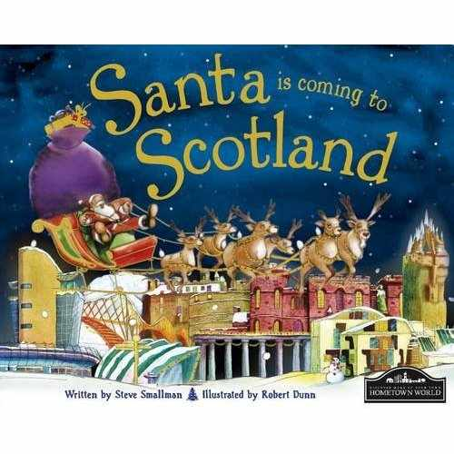 Santa is coming to Scotland - Story Book