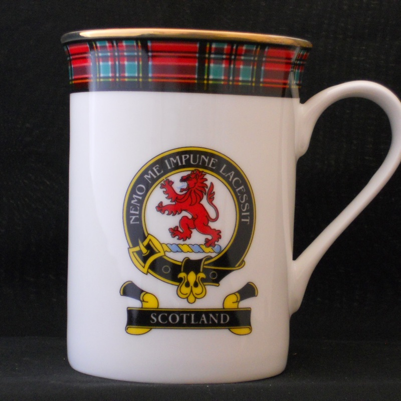 Scotland Royal Red Lion Fine Bone China Mug