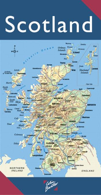 The Full Color Map of Scotland
