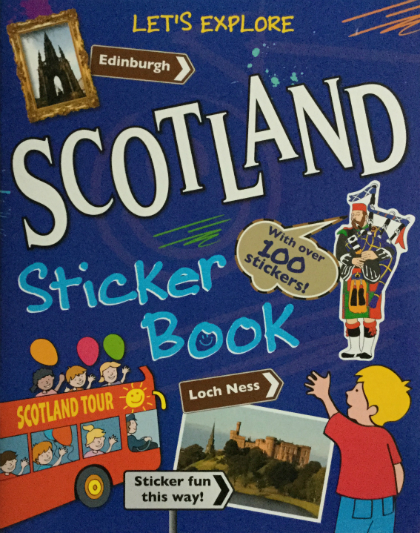 Scotland Sticker Book