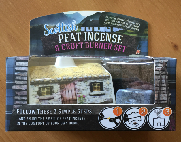 Scottish Peat Incense and Croft Burner Set