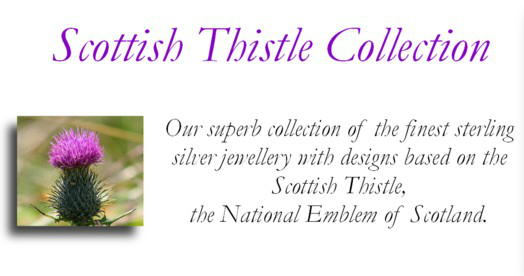 Scottish Thistle Jewelry