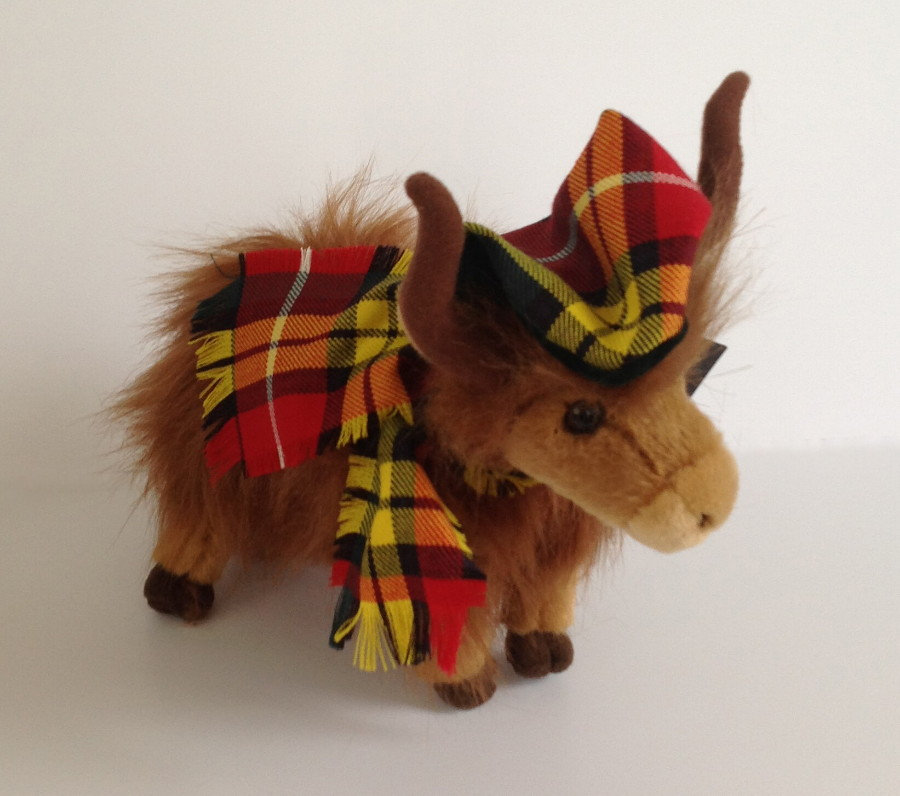 The Tartan Highland Coo