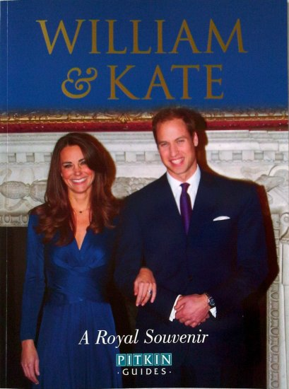 Royal Engagement Souvenir Book