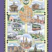 Glasgow Cotton Tea Towel