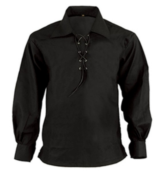 Jacobite Ghillie Shirt - Black
