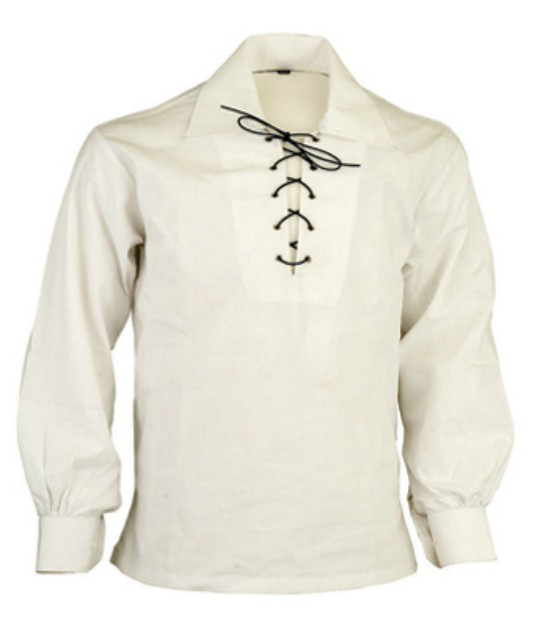 Jacobite Ghillie Shirt - Off White