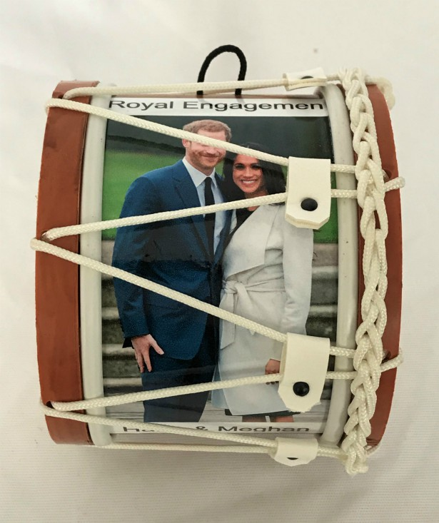 Royal Engagement Harry and Meghan Souvenir Mini Lambeg Drum