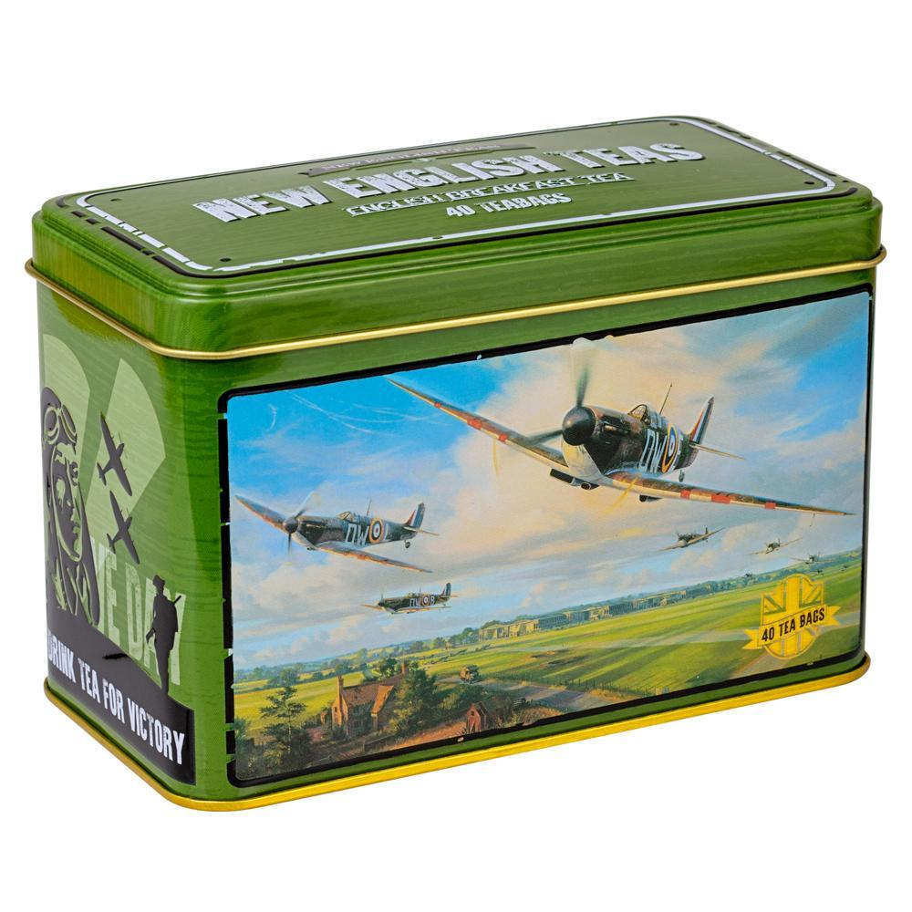 Spitfire English Breakfast Tea Tin With 40 Teabags